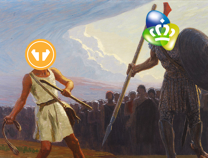 Tweak en KPN - David vs Goliath