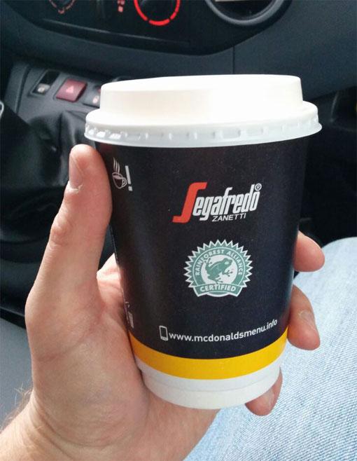 Om je onderweg goed wakker te houden heb je natuurlijk voldoende koffie nodig!
