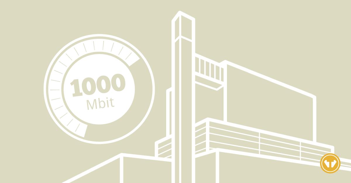 1000 Mbit nu in Dronten