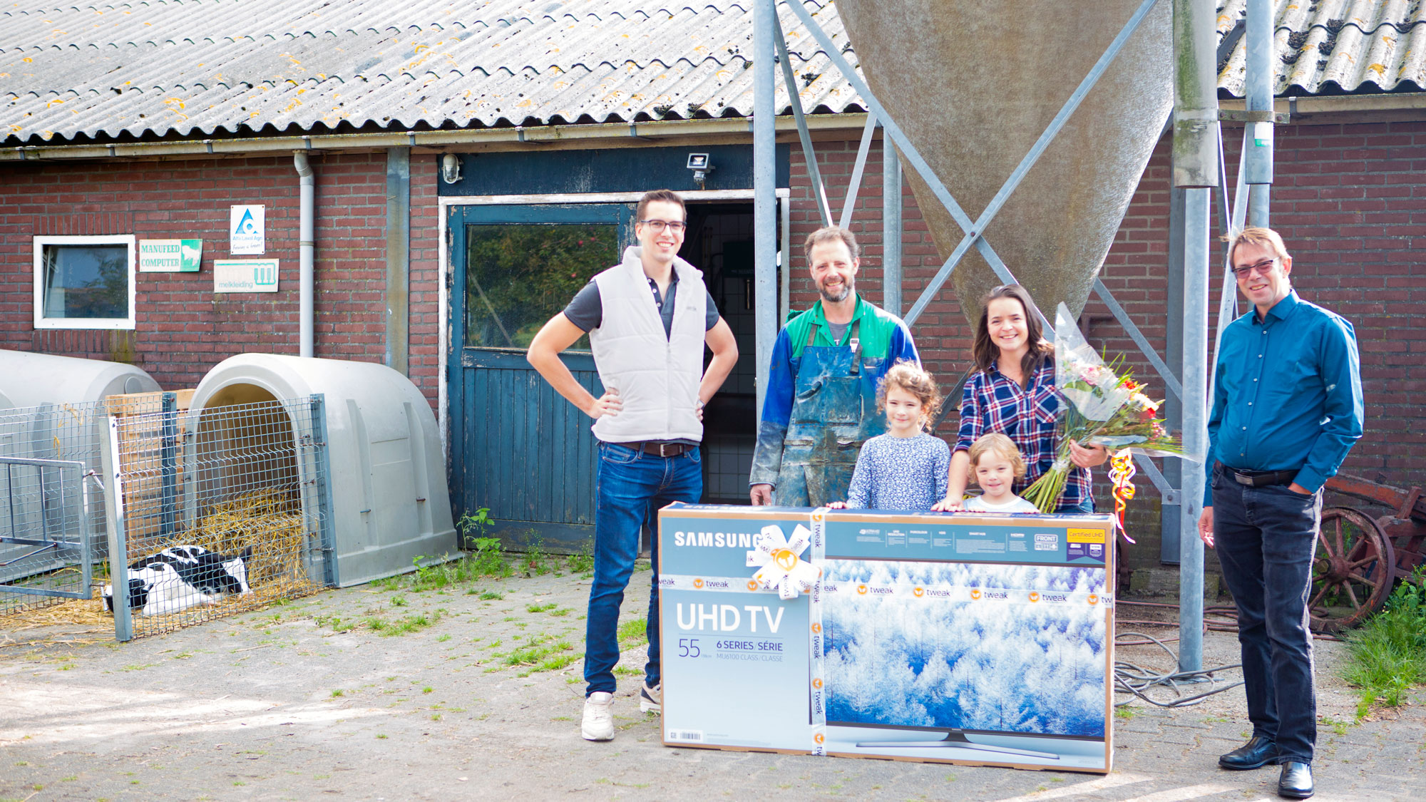 Prijsuitreiking Tweak familie Vedder